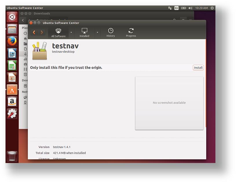 Set Up TestNav on Linux - TestNav 8 - Pearson Assessment Support