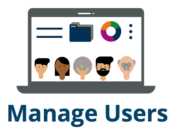 Link to instructions for managing users.