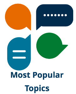Link to most popular topics.
