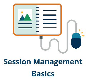 Link for instructions to session management basics.